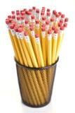 Bleistifte in der Halterung. Lizenzfreies Stockfoto