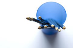 Bleistifte in einem Cup Lizenzfreies Stockbild