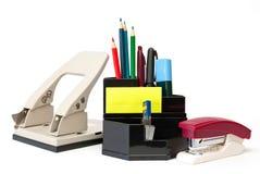 Bleistifte, Federn, Markierungen und andere Sachen Lizenzfreie Stockbilder