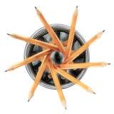 Bleistifte in Halter 1 Lizenzfreie Stockfotos