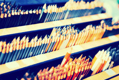 Bleistifte im Speicher Lizenzfreie Stockfotografie