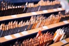Bleistifte im Speicher Lizenzfreie Stockbilder