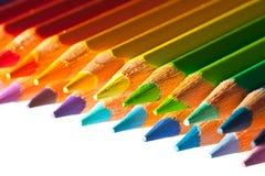 Bleistifte mit copyspase Lizenzfreie Stockfotos