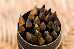Bleistifte: Nahaufnahme Lizenzfreie Stockfotografie