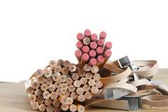 Bleistifte, Schule u. Büroartikel Lizenzfreie Stockfotografie