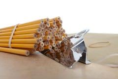 Bleistifte, Schule u. Büroartikel Lizenzfreie Stockbilder
