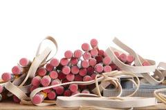 Bleistifte, Schule u. Büroartikel Stockfotos