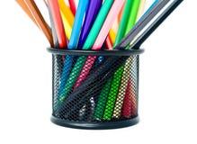 Bleistifte sind im Support Lizenzfreie Stockfotos