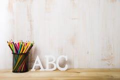 Bleistifte und Lizenzfreie Stockbilder