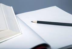 Bleistifte und Bücher Lizenzfreie Stockfotografie