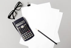 Bleistifte und Bücher Lizenzfreie Stockfotos