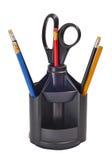 Bleistifte und Messer Lizenzfreie Stockbilder