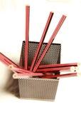 Bleistifte und Schreibtisch sauber Lizenzfreies Stockfoto
