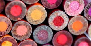 Bleistifte unterstützen Rot Lizenzfreie Stockbilder
