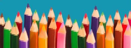 Bleistifte - Verschiedenartigkeit und Sameness Lizenzfreie Stockfotografie