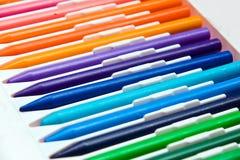 Bleistifte von Farben Lizenzfreie Stockbilder