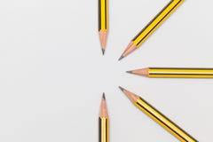 Bleistifte zusammen Stockbild