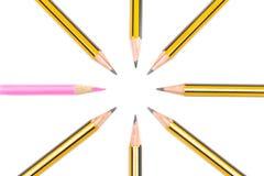 Bleistifte zusammen Stockfotografie