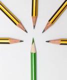 Bleistifte zusammen Lizenzfreie Stockfotos