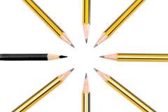 Bleistifte zusammen Lizenzfreies Stockfoto