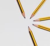 Bleistifte zusammen Lizenzfreies Stockbild