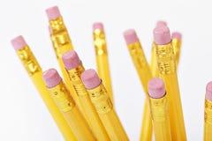 Bleistiftenden stockfoto