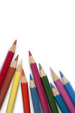 Bleistiftfarbe Stockfotos
