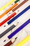 Bleistiftfarbe stock abbildung