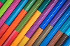Bleistiftfarbe Stockfotografie