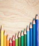 Bleistiftfarbe Lizenzfreie Stockbilder