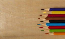 Bleistiftfarbe Lizenzfreie Stockfotos