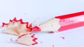 Bleistiftfarbe auf Hintergrund Lizenzfreie Stockbilder