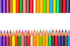 Bleistiftfarben Stockbild