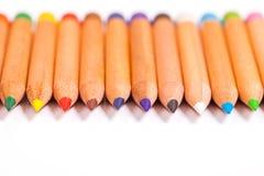 Bleistiftfarben Lizenzfreie Stockfotografie