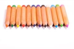 Bleistiftfarben Stockfoto