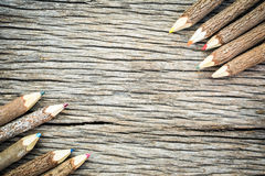 Bleistiftfarben Stockfotografie