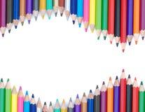 Bleistiftfarbenhintergrund Stockfoto