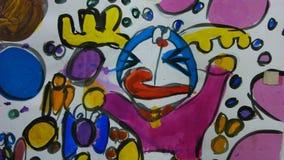 Bleistiftfarbmalerei Lizenzfreie Stockfotos