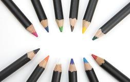 Bleistiftform-Ovalform Lizenzfreie Stockfotografie