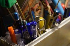 Bleistifthalter lizenzfreie stockfotos