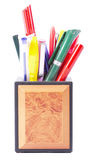 Bleistifthalterung Stockbild