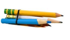 Bleistifthausarbeit Stockfotos