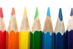 Bleistifthintergrund Lizenzfreie Stockfotos