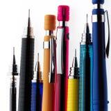 Bleistifthintergrund Stockfoto