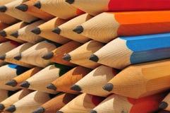 Bleistifthintergrund Lizenzfreie Stockbilder