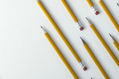 Bleistifthintergrund Stockbilder