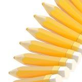 Bleistifthintergrundzusammensetzung vektor abbildung