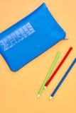 Bleistiftkasten Stockfoto