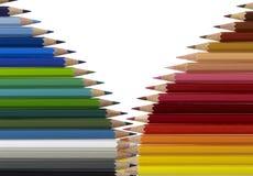 Bleistiftmuster Lizenzfreies Stockfoto