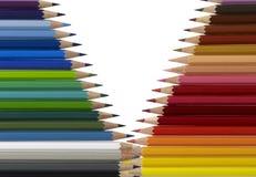 Bleistiftmuster Lizenzfreie Stockfotos